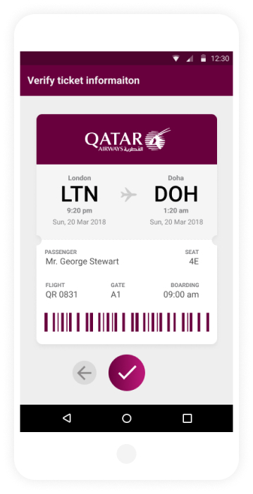 qatar App Screens