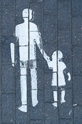 """I like this graphic for """"pedestrian path."""""""