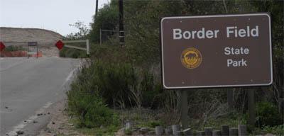 BFSP entry sign