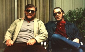 Laird Wilcox & John George somewhere in Oklahoma
