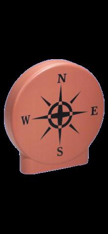Sun Dial Garden Disk (Terracota) photo