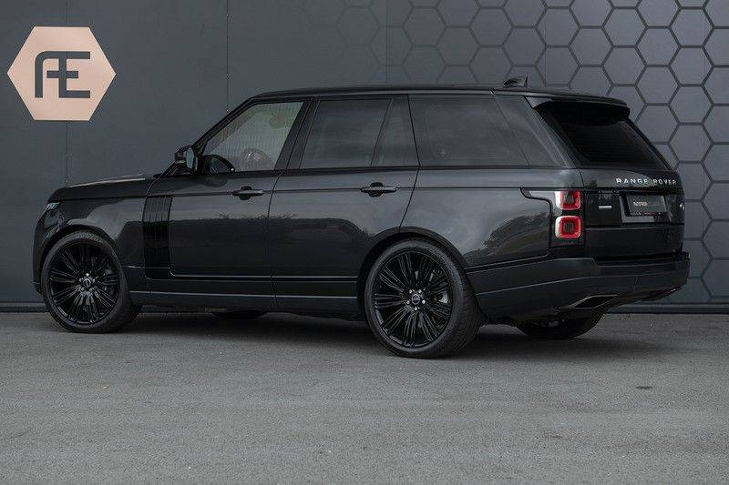 "Land Rover Range Rover 5.0 V8 SC VOGUE Black Pack Elek. Trekhaak, Head-up, 22"", Stoelverkoeling, afbeelding 3"