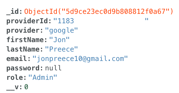 MongoDB Atlas Inline Editing