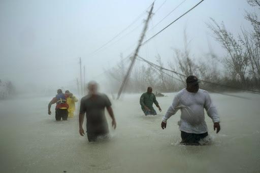 Bahamians escaping the wrath of Dorian