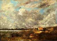 Stormy Weather, Pas de Calais, by Camille Corot c. 1870, Pushkin Museum