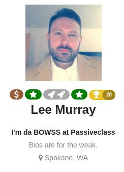 Lee Murray on WarriorPlus