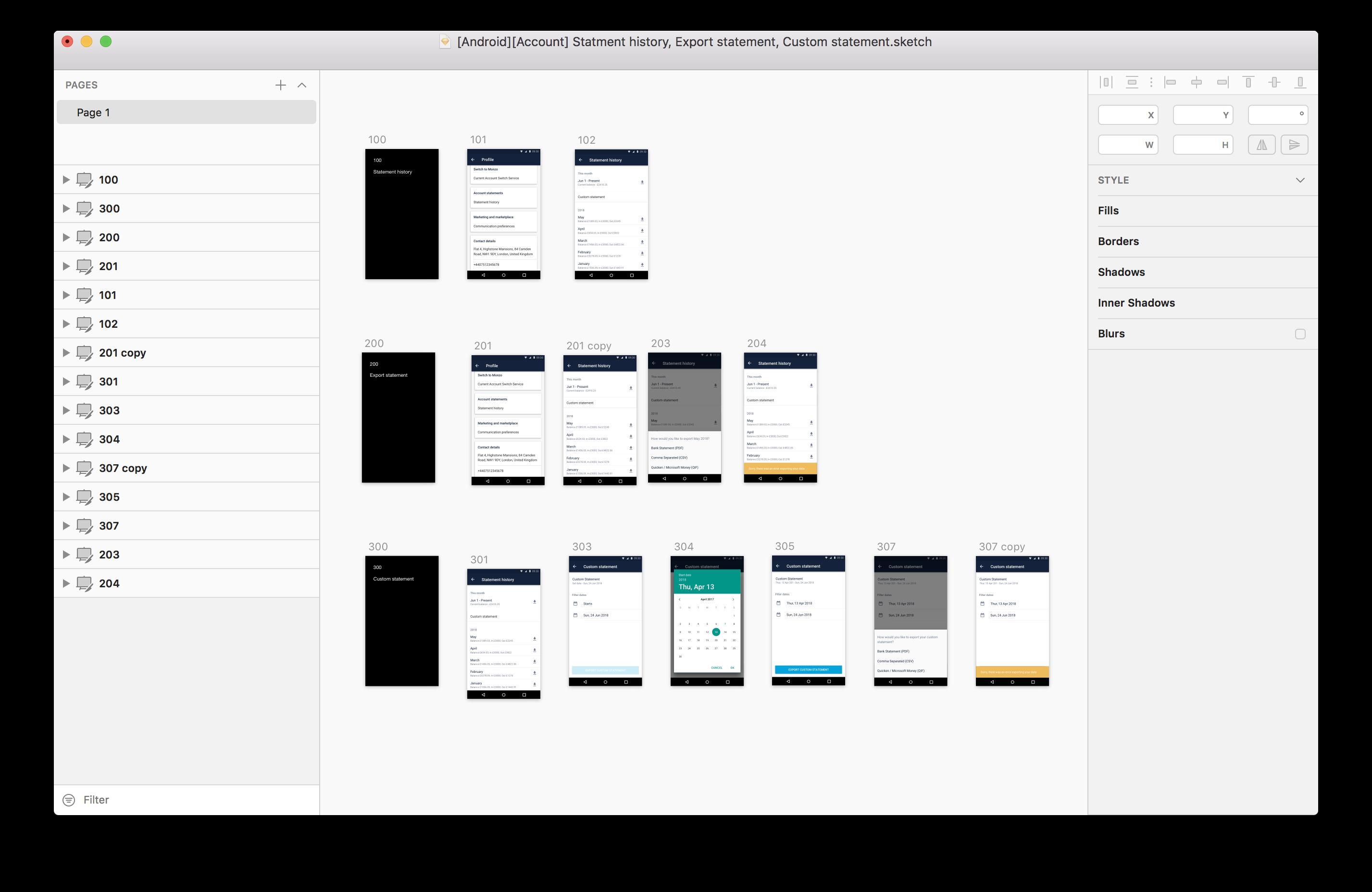 A messy design file
