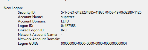 windows security log event