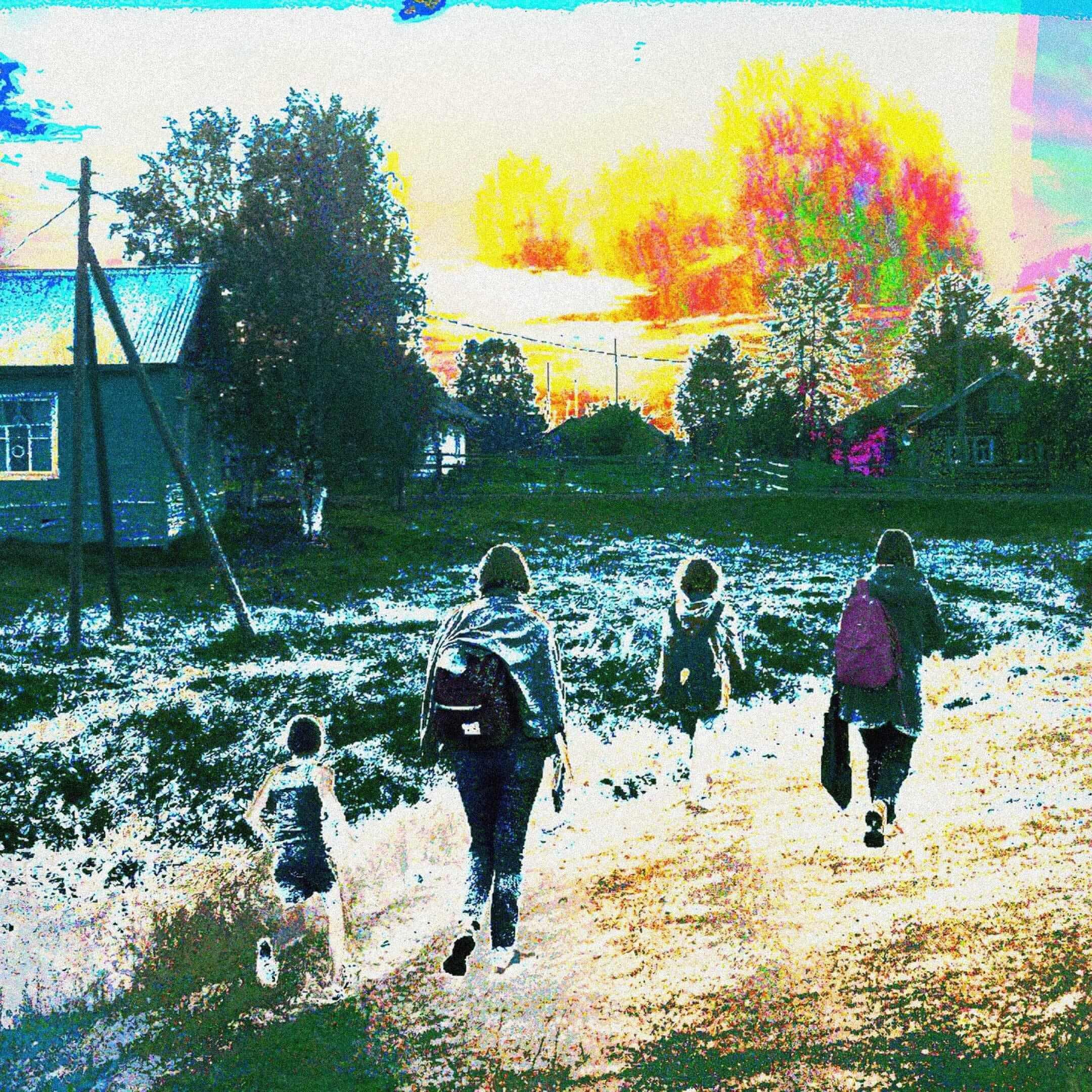 Участники научной экспедиции в селе Кипиево в Ижемском районе Республики Коми. Фото: Андриан Влахов
