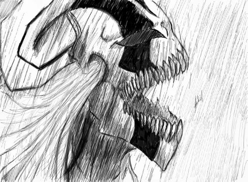 Ichigo Hollow Screaming