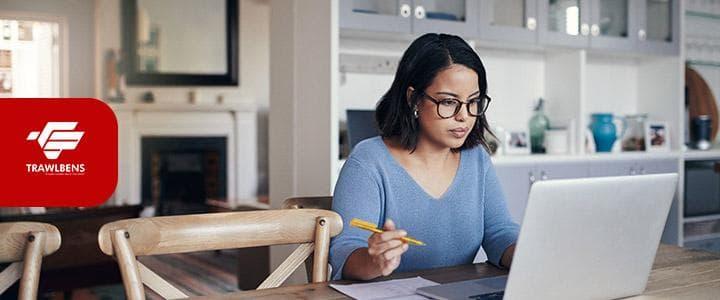cara tetap produktif work from home