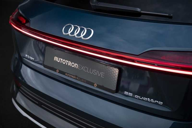 Audi E-tron 55 quattro Advanced Pro Line S NOVEMBER 2018!! € 146,- netto bijtelling pm! 4% bijtelling!! Massage + Head-up + Stoelkoeling afbeelding 15