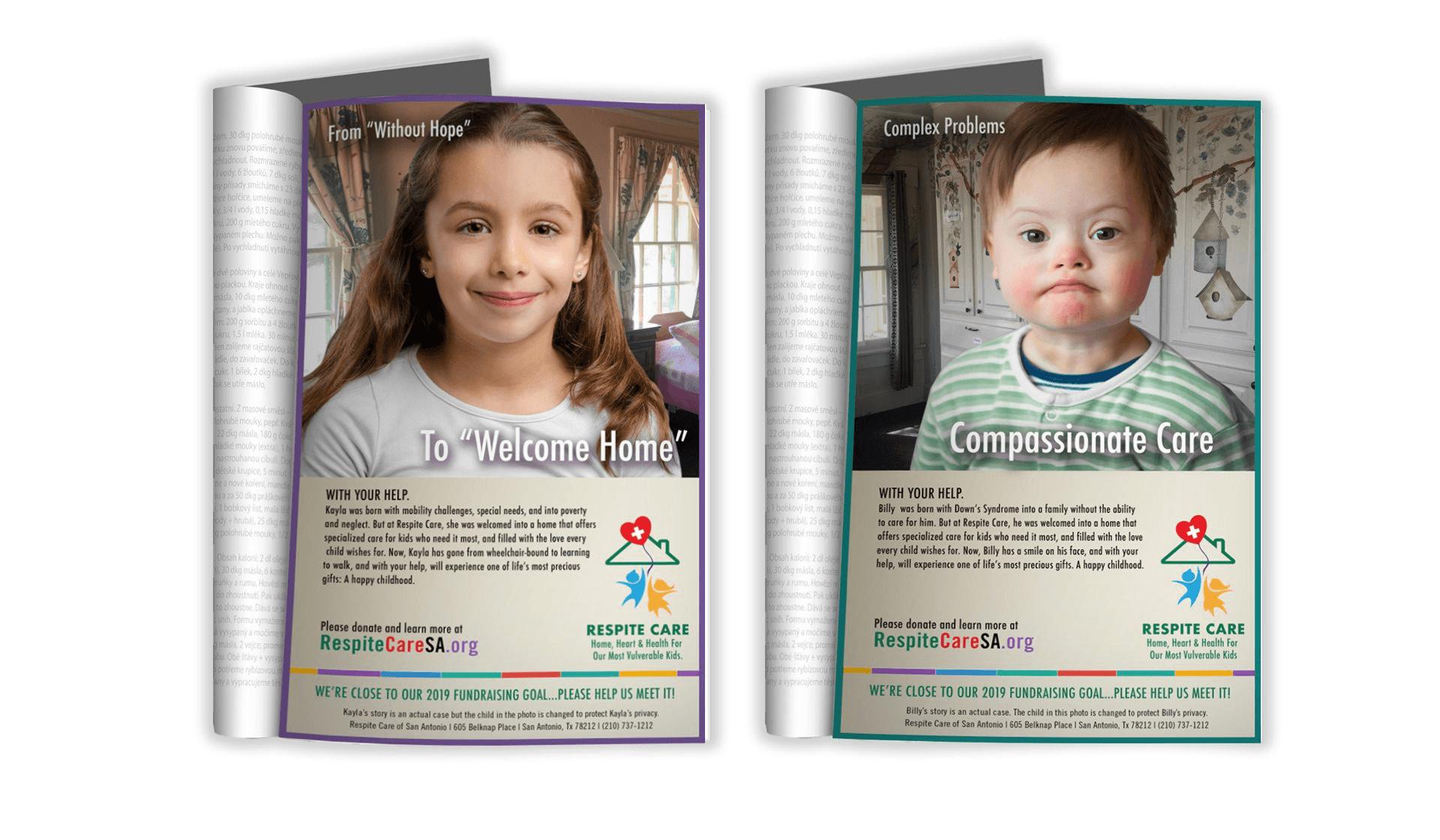 Respite Care Print Ads