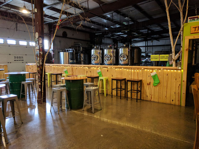 The CraftRoots taproom