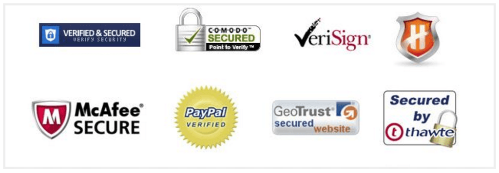 Ecommerce trust badges