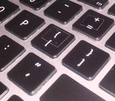 Adding bumps to keys you keep missing helps.