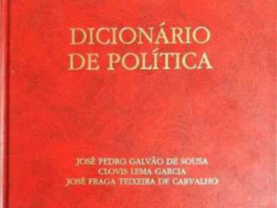 José Pedro Galvão de Souza - Dicionário de Política