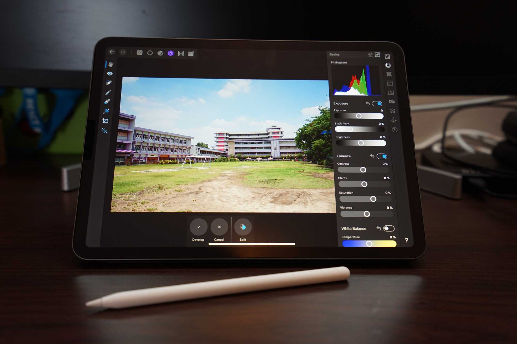 iPad Pro 11-inch with Affinity Photo
