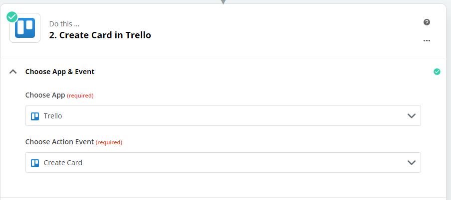 Create card in Trello