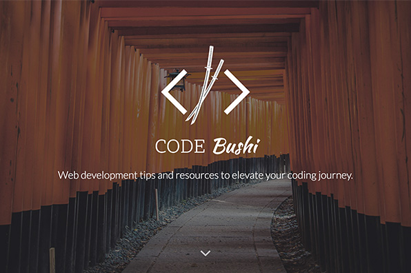 Screenshot of Code Bushi