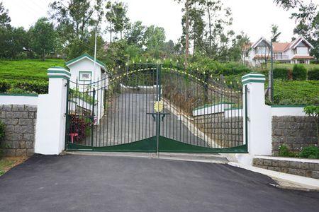 Hillsborough entrance of gated community Coonoor Kotagiri road