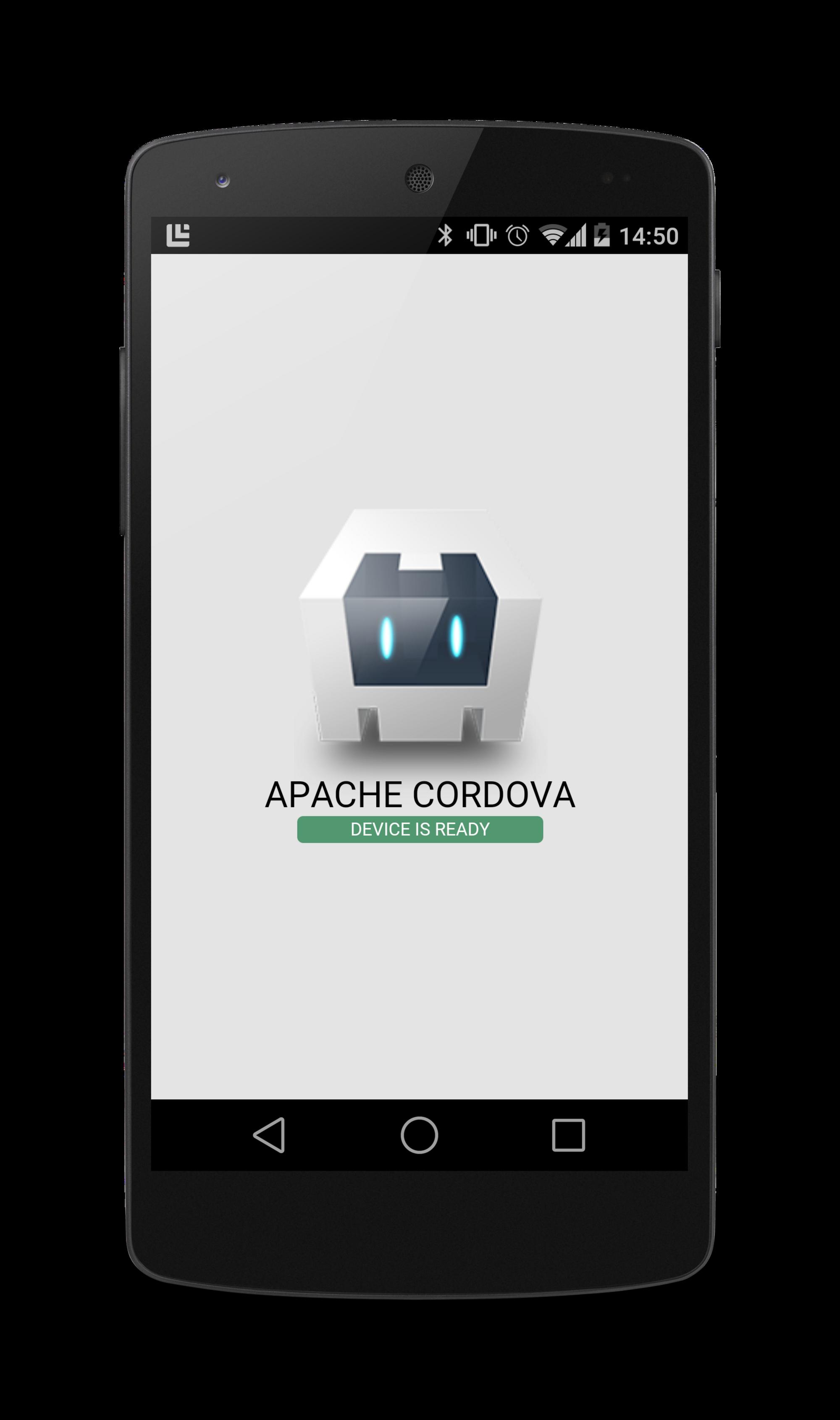 Cordova App on a Nexus 5