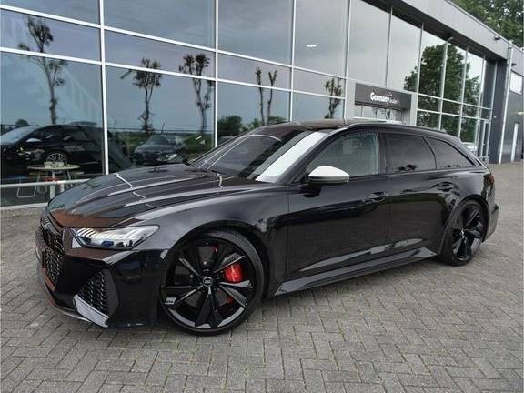 Audi RS6 4.0TFSI 600pk Quattro Keramiek Carbon B&O High-End Softcl Nachtz TV Laser Standk VOL!!