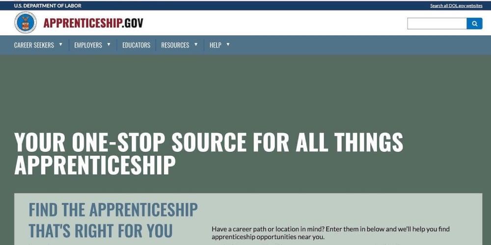 Apprenticeship.gov - Logo Image