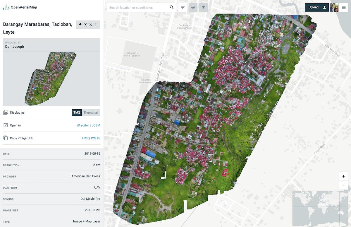 Barangay Marasbaras drone imagery