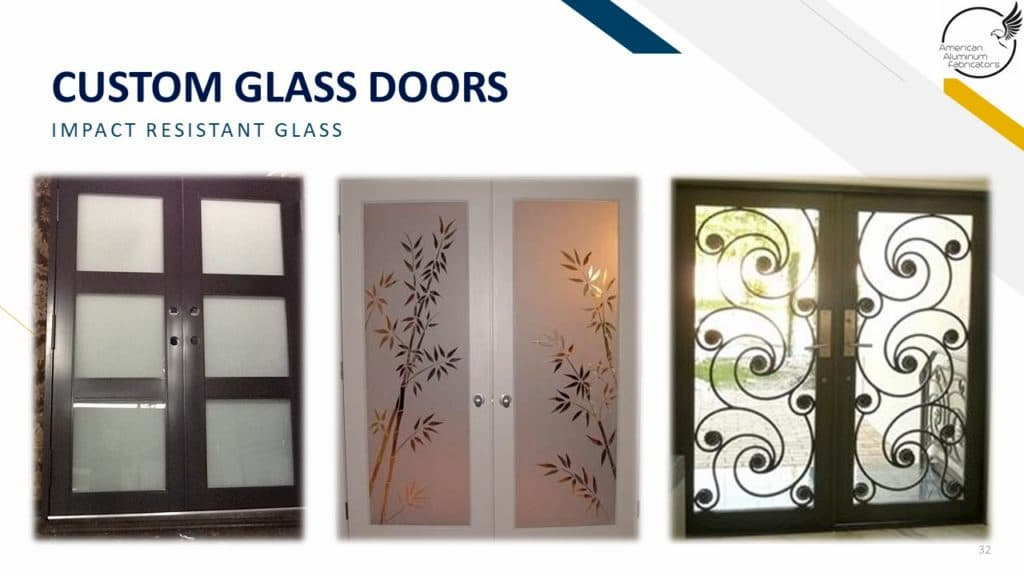 impact glass doors