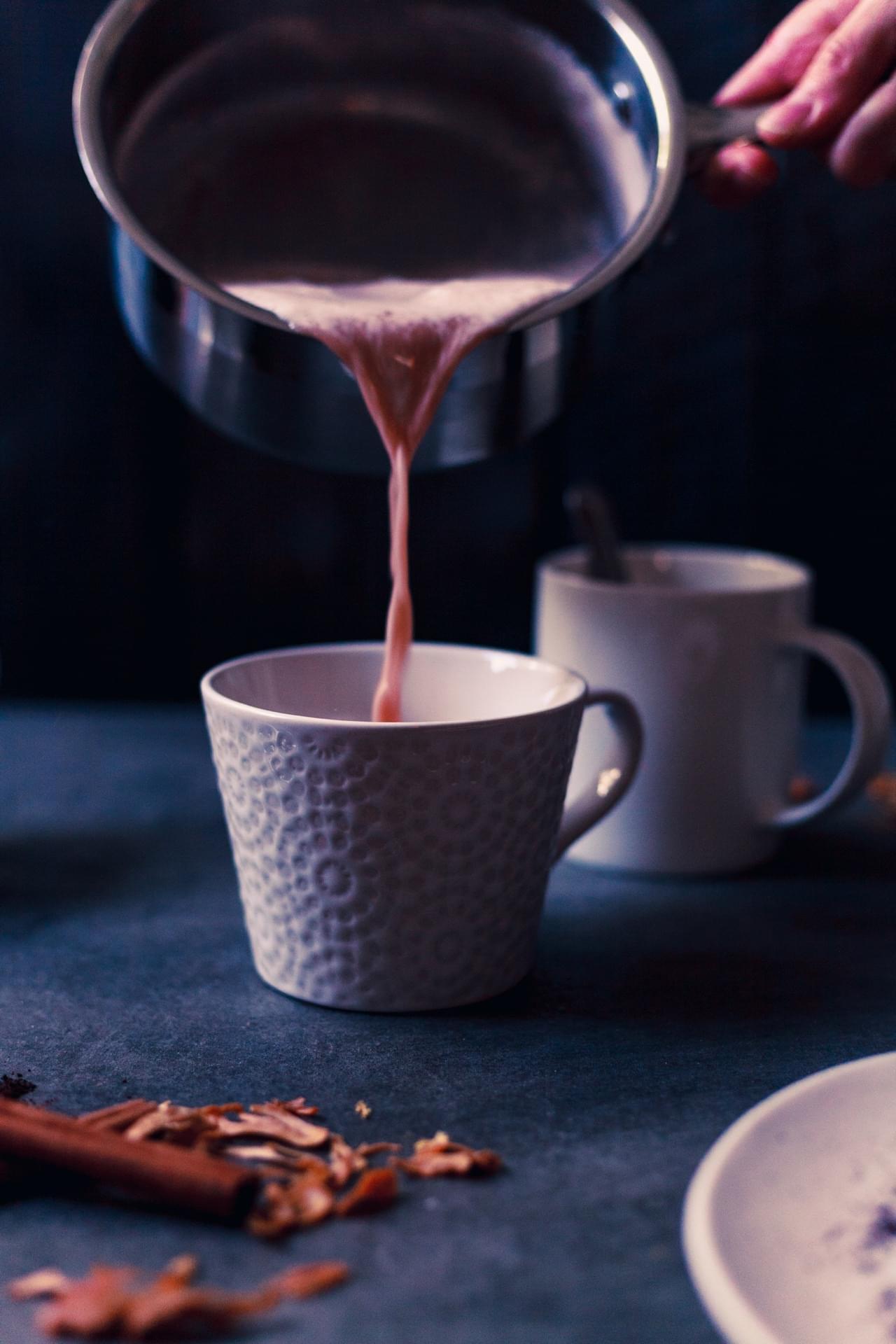 Vanilla Beet Spice Latte