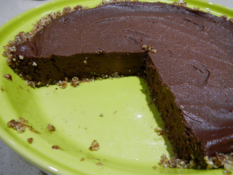 Cutting Chocolate Pie
