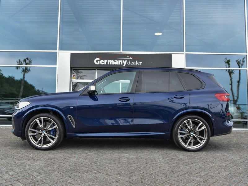 BMW X5 M50d M-Sportpakket Laser-LED H&K Pano Head-Up Swarovski Comf.Zetels 22-Inch! afbeelding 4