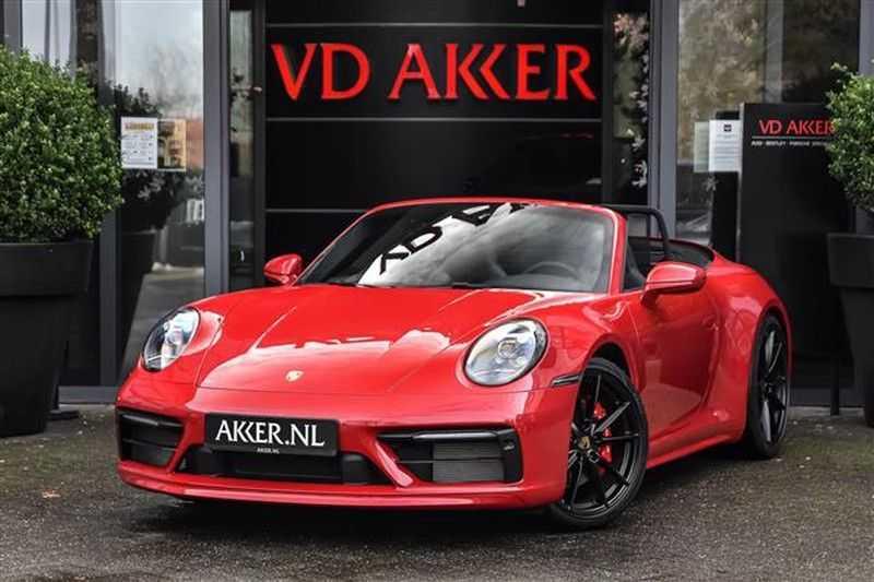 Porsche 911 4S CABRIO SPORTDESIGN+4WSTURING+SPORTCHRONO afbeelding 1