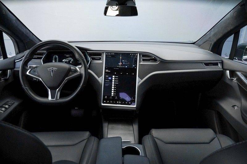 """Tesla Model X 100D Excl. BTW Luchtvering, Autopilot Leer 4% bijt. 22"""" afbeelding 2"""