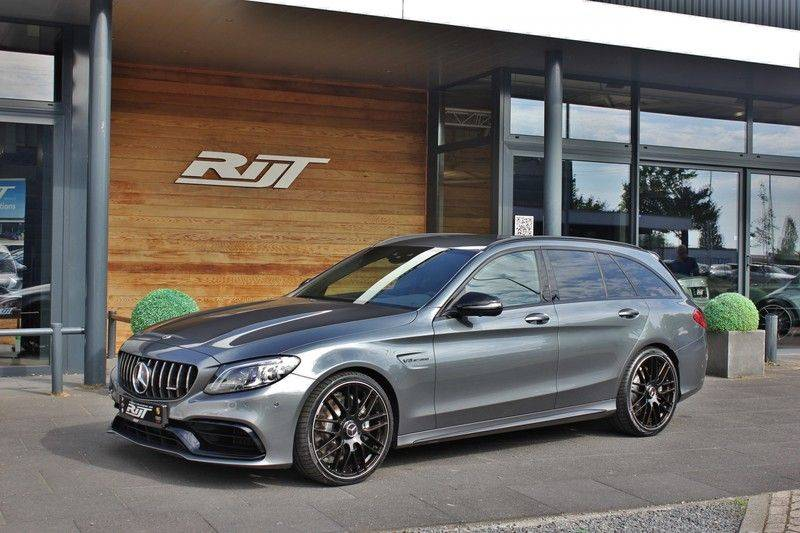 Mercedes-Benz C-Klasse C63 AMG 4.0 V8 Estate 476pk! **360°Camera/Burmester/Spoorassistent** afbeelding 3