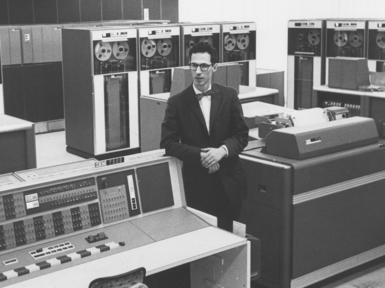 Fernando Corbató at MIT