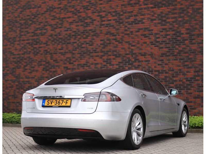 Tesla Model S 75D Base *4% t/m 06-'23*5-persoons*AutoPilot* afbeelding 3