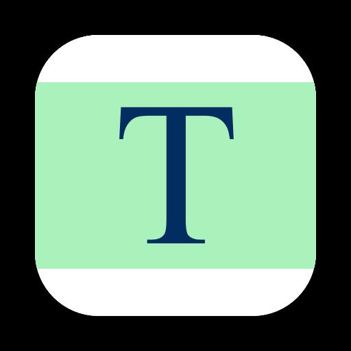 Text Compare app icon.