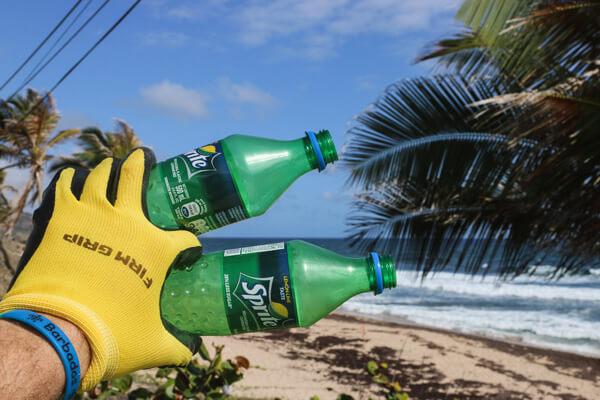 recogida basura playa
