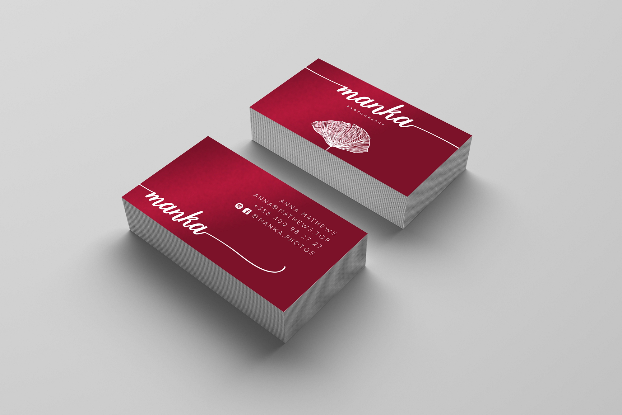 Item botanical business card design for Manka photography - Crocus ...