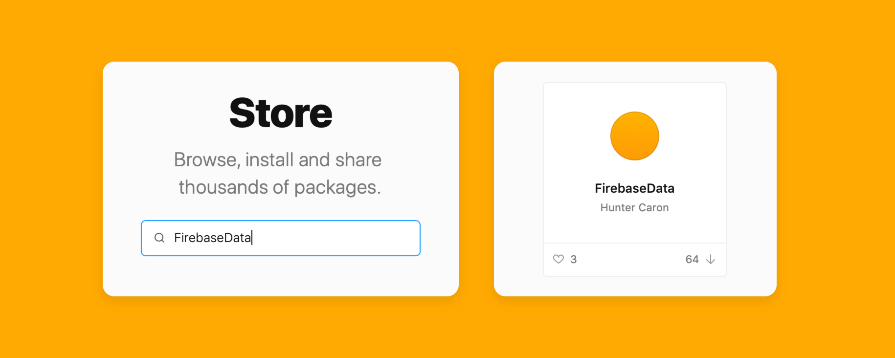 The Firebase component available in Framer