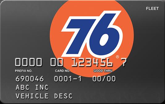 76 card