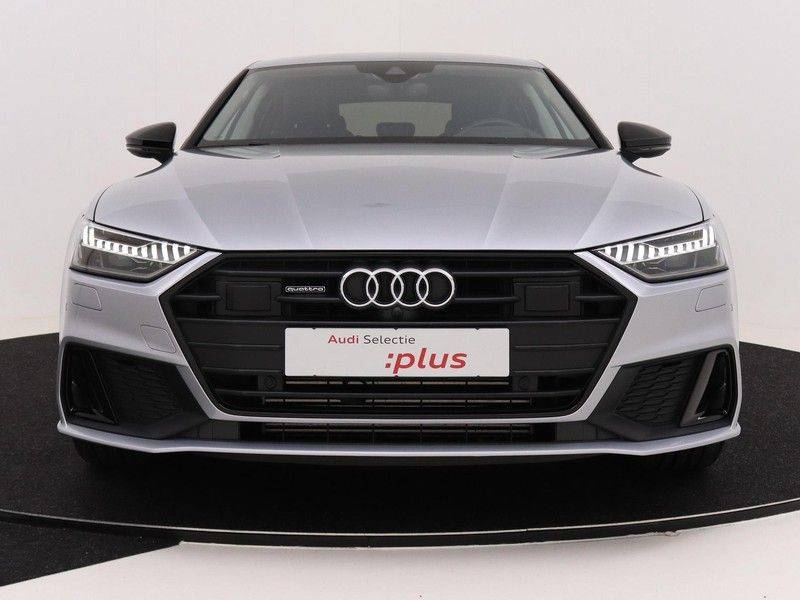 Audi A7 Sportback 55 TFSI e quattro Competition 376 PK   21'' velgen zwart   Assistentiepakket Tour & City   360* Camera   Head-Up   Matrix LED   Adapt. Demping   Comfortstoelen   Leder afbeelding 10