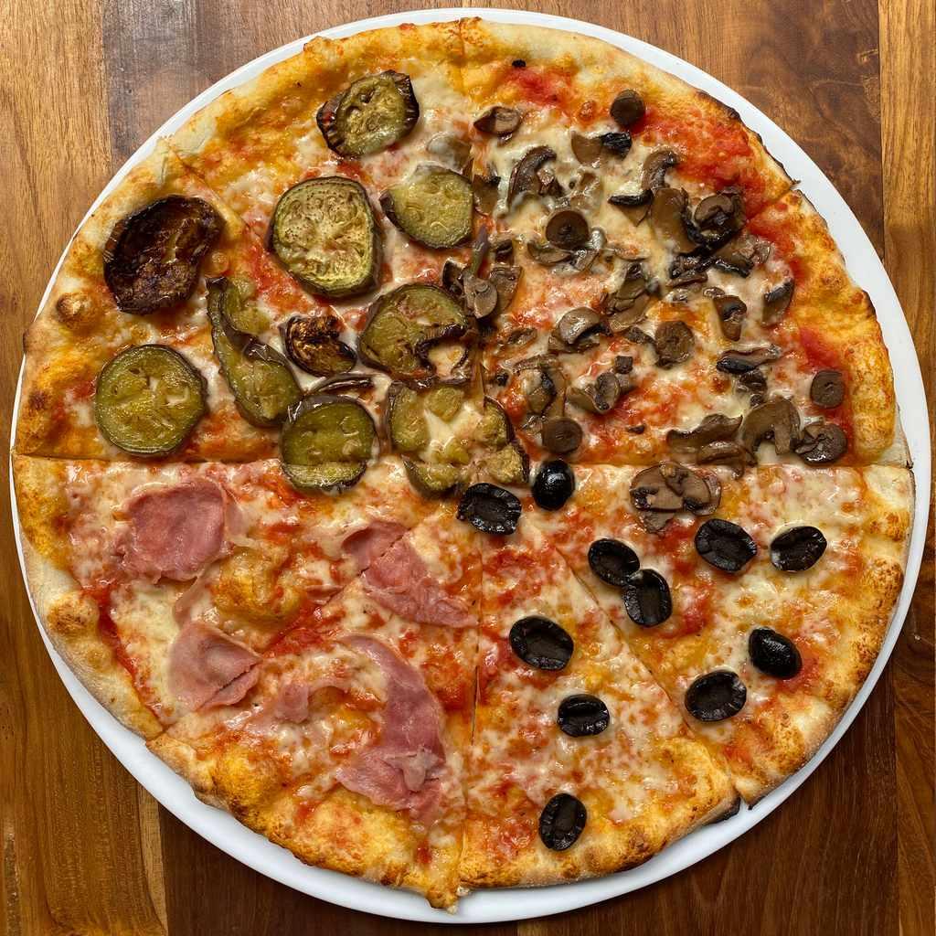 pizza: quattro stagioni