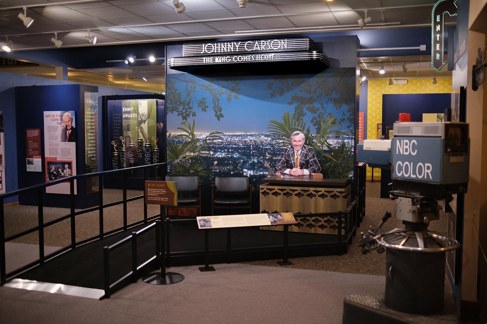 Johnny Carson Exhibit