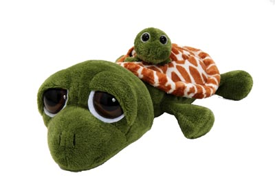 "The Petting Zoo: 10"" Pocketz Sea Turtle"