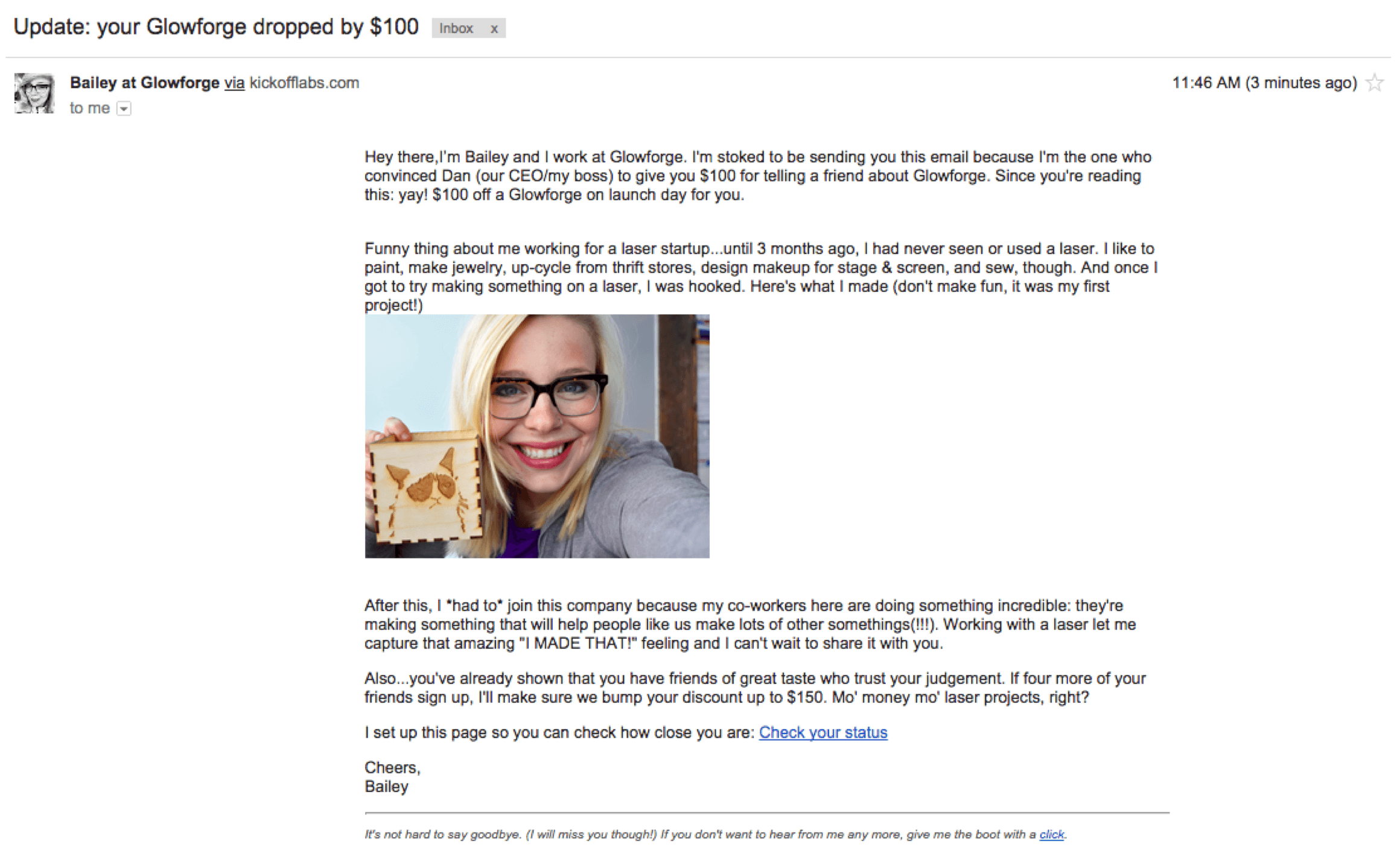 1 referral email