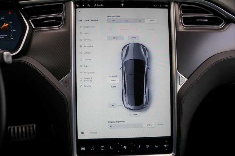 Tesla Model S P90D Performance Ludicrous 576pk / Autopilot / Pano / 21inch / Carbon / 162.500,- Nieuw afbeelding 21