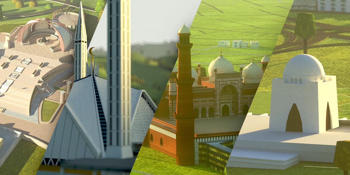 WRLD Maps Pakistan in 3D
